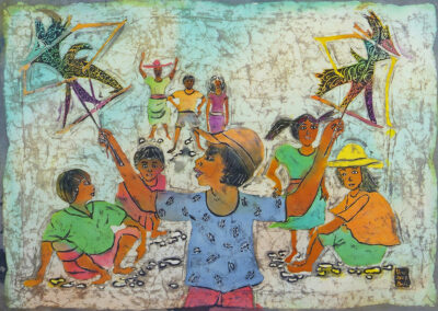 Wayang puppetry - 45x63 cm - 2008