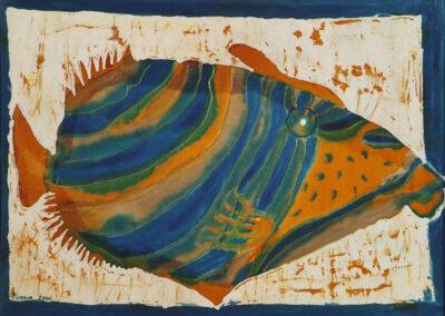 Fish - 34x46 cm - 2000