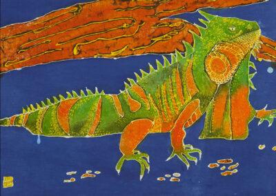 Iguana - 45x61 cm - 2008
