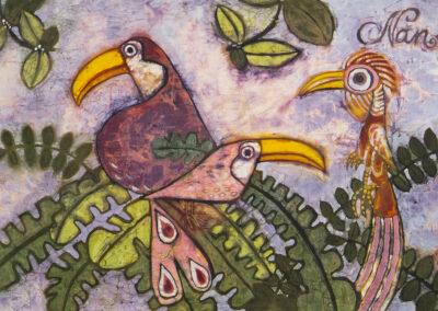 Birds - 88x57 cm - 2008