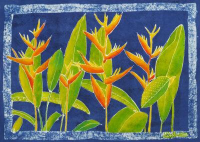 Parrot flower - 49x67 cm - 2008