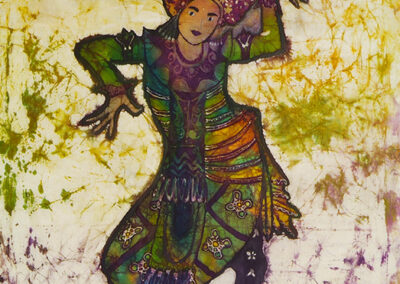 Balinese dancer, days - 65x86 cm - 2008