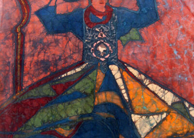 Tanor dancer - 50x53 cm - 2009